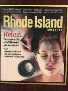 RI Monthly cover Holistic skin care