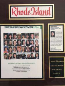 RI Monthly Enterprising Women 2014