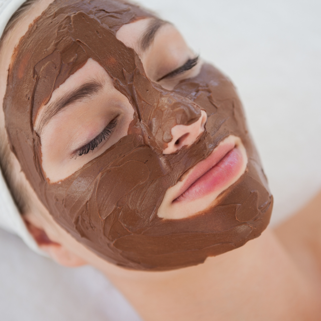 weird chocolate facial treatment